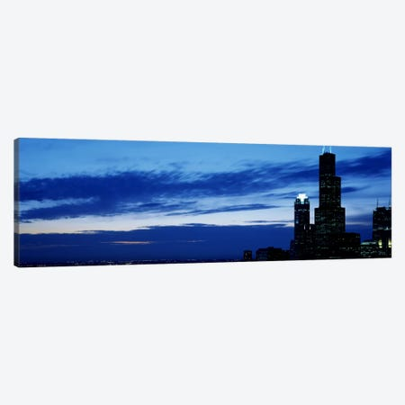 Buildings in a city, Sears Tower, Chicago, Cook County, Illinois, USA Canvas Print #PIM1834} by Panoramic Images Canvas Print
