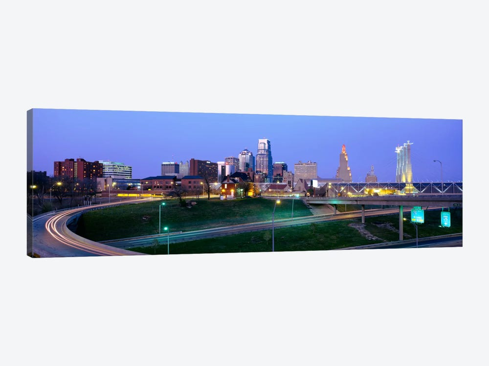Buildings in a city, Kansas City, Missouri, USA by Panoramic Images 1-piece Art Print