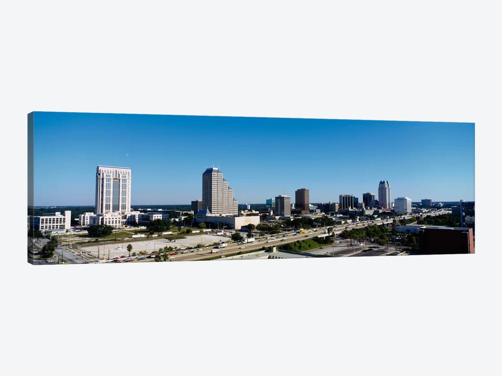 High angle view of buildings in a city, Orlando, Florida, USA by Panoramic Images 1-piece Art Print