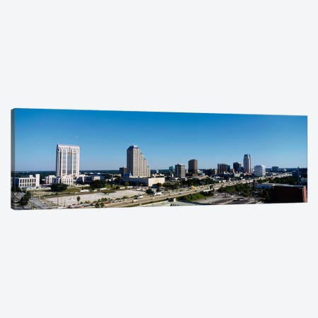 High angle view of buildings in a city, Orlando, Florida, USA Canvas Print #PIM1840} by Panoramic Images Canvas Print