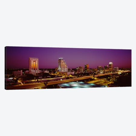 High angle view of buildings in a cityOrlando, Florida, USA Canvas Print #PIM1841} by Panoramic Images Canvas Print