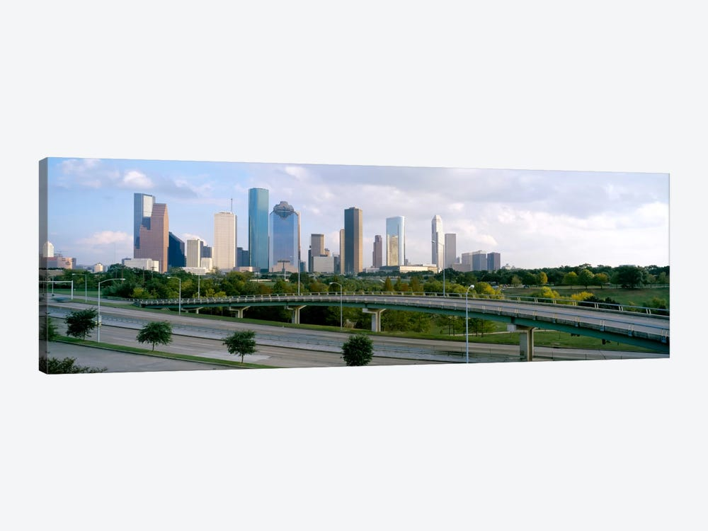 Skyscrapers in a cityHouston, Texas, USA by Panoramic Images 1-piece Art Print