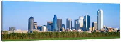 Skyline Dallas TX USA Canvas Print #PIM1845