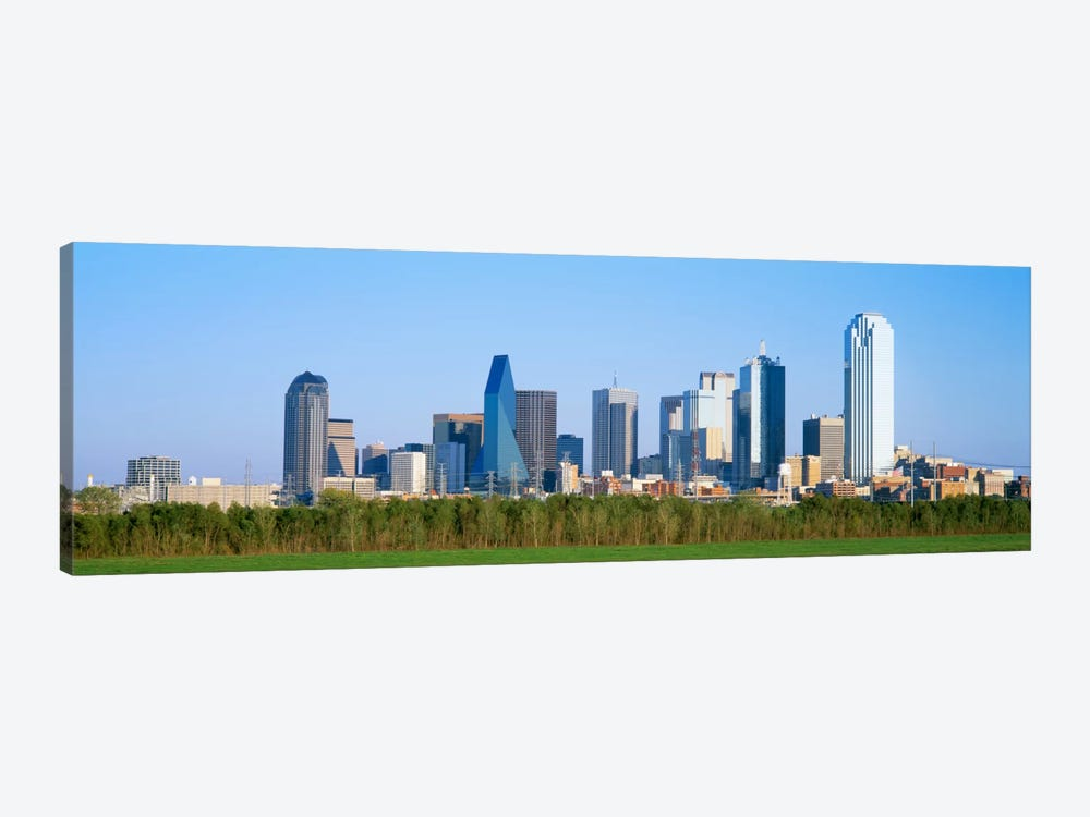Skyline Dallas TX USA by Panoramic Images 1-piece Canvas Art