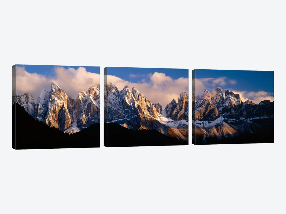 Dolomites II, Southern Limestone Alps, Italy by Panoramic Images 3-piece Canvas Print