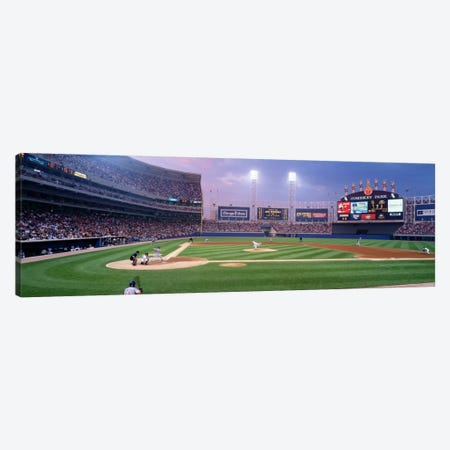 USA, Illinois, Chicago, White Sox, baseball Canvas Print #PIM1858} by Panoramic Images Canvas Artwork