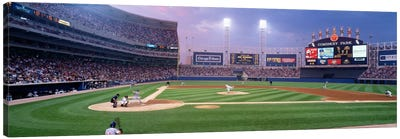 USA, Illinois, Chicago, White Sox, baseball by Panoramic Images Canvas Artwork