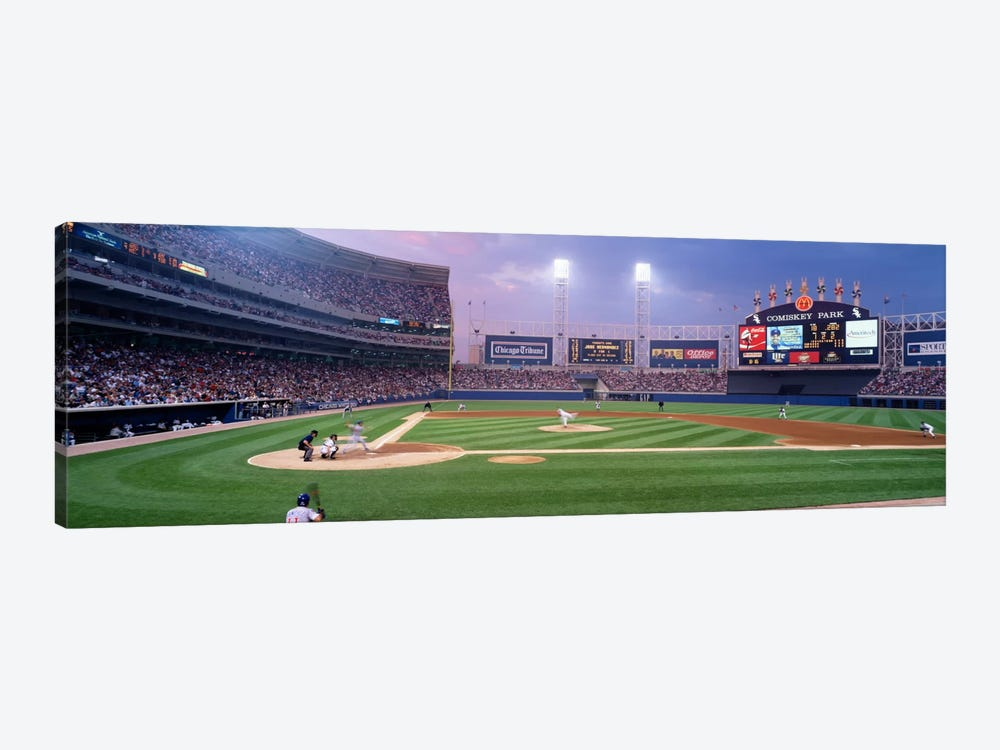 USA, Illinois, Chicago, White Sox, baseball by Panoramic Images 1-piece Canvas Wall Art