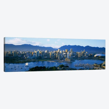 Downtown Skyline, Vancouver, British Columbia, Canada Canvas Print #PIM1861} by Panoramic Images Canvas Print