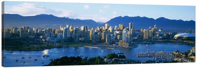 Downtown Skyline, Vancouver, British Columbia, Canada Canvas Art Print