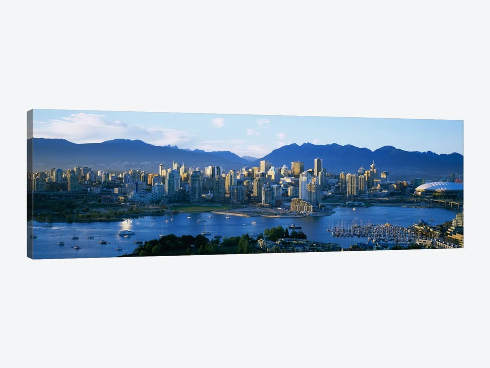 Downtown Skyline, Vancouver, British Columbia, Canada by Panoramic Images 1-piece Canvas Art