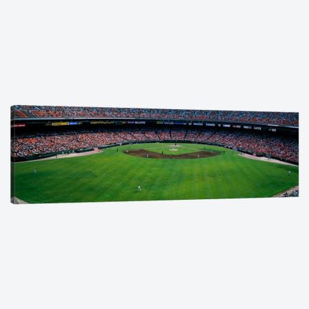Baseball stadium, San Francisco, California, USA Canvas Print #PIM1870} by Panoramic Images Canvas Art