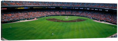 Baseball stadium, San Francisco, California, USA Canvas Art Print