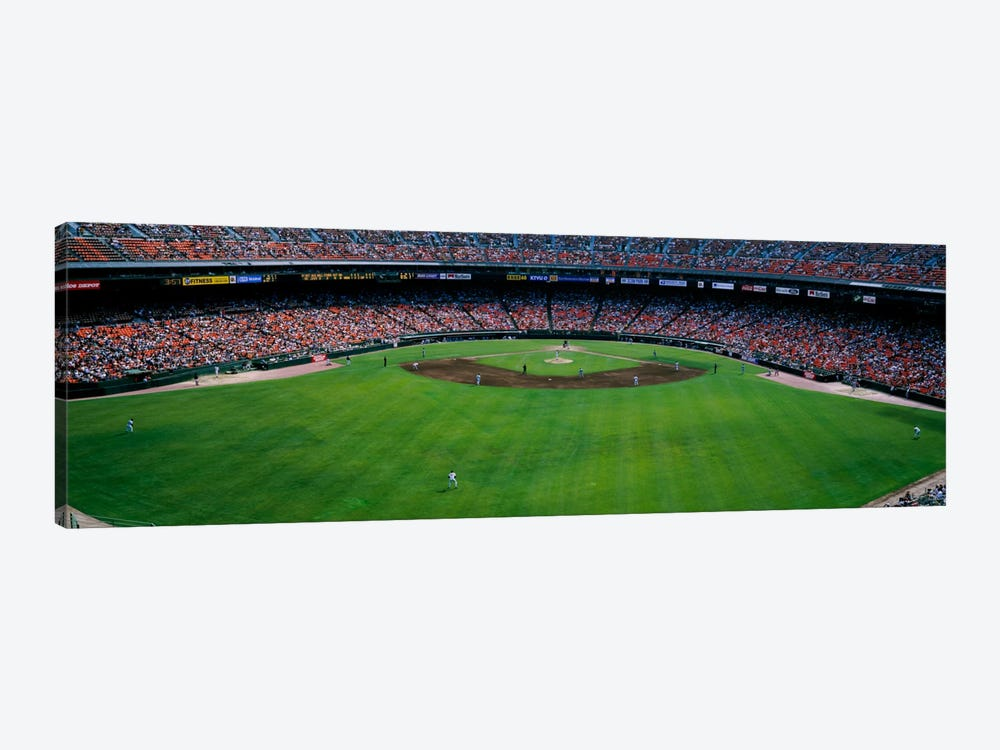 Baseball stadium, San Francisco, California, USA by Panoramic Images 1-piece Canvas Artwork