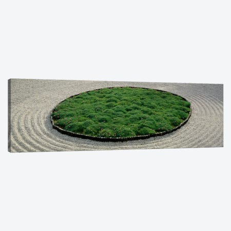 High angle view of a Japanese garden, Portland, Oregon, USA Canvas Print #PIM1875} by Panoramic Images Canvas Print