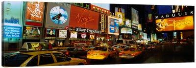 Times Square, Manhattan, NYC, New York City, New York State, USA Canvas Print #PIM1878