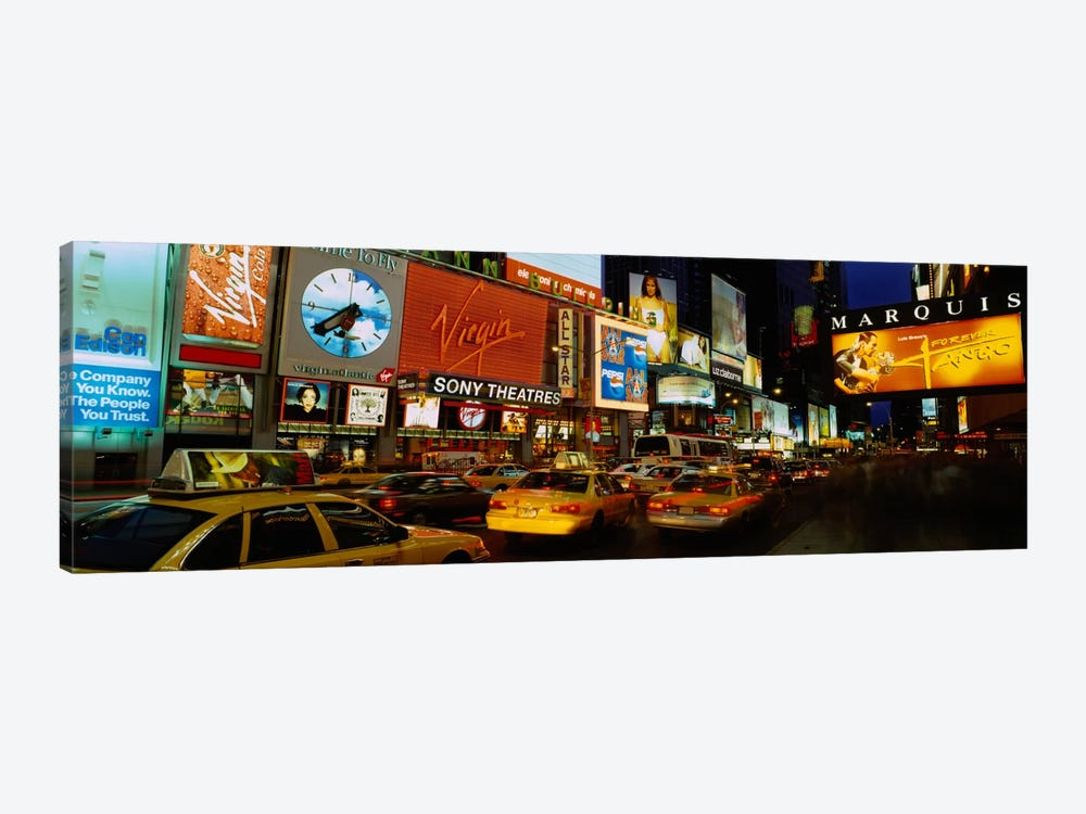 Times Square, Manhattan, NYC, New York City, New York State, USA by Panoramic Images 1-piece Canvas Art