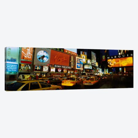 Times Square, Manhattan, NYC, New York City, New York State, USA Canvas Print #PIM1878} by Panoramic Images Canvas Wall Art