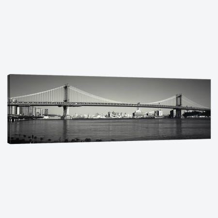 Manhattan Bridge across the East River, New York City, New York State, USA Canvas Print #PIM1880} by Panoramic Images Canvas Art Print
