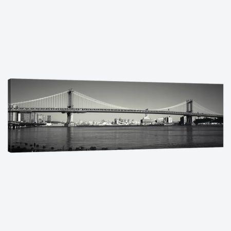 Manhattan Bridge across the East River, New York City, New York State, USA Canvas Print #PIM1880} by Panoramic Images Canvas Art Print