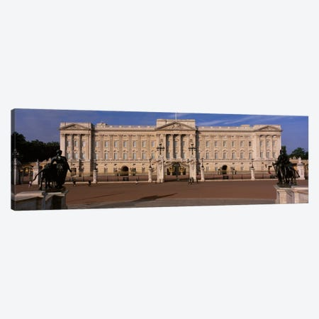 East Front, Buckingham Palace, London, England, United Kingdom Canvas Print #PIM1892} by Panoramic Images Canvas Artwork