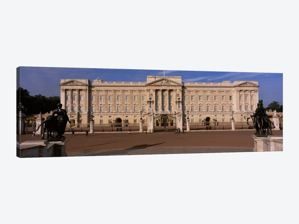 East Front, Buckingham Palace, London, England, United Kingdom by Panoramic Images 1-piece Canvas Wall Art