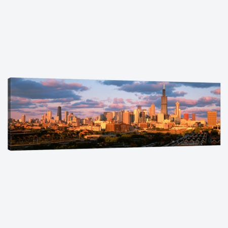 Cityscape, Day, Chicago, Illinois, USA Canvas Print #PIM1896} by Panoramic Images Canvas Print