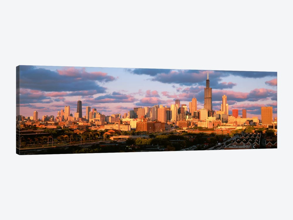 Cityscape, Day, Chicago, Illinois, USA by Panoramic Images 1-piece Canvas Art