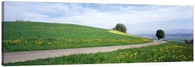 Road Fields Aargau Switzerland Canvas Print #PIM1916