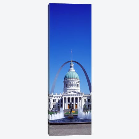 Old Courthouse & St Louis Arch St Louis MO USA Canvas Print #PIM1926} by Panoramic Images Canvas Print