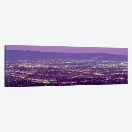 Aerial Silicon Valley San Jose California USA Canvas Print #PIM1935} by Panoramic Images Canvas Wall Art