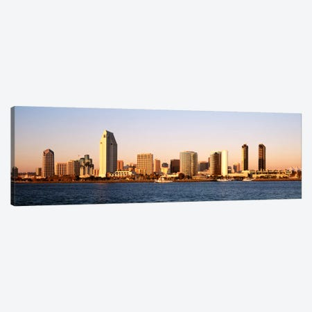Buildings in a city, San Diego, California, USA Canvas Print #PIM1943} by Panoramic Images Canvas Art