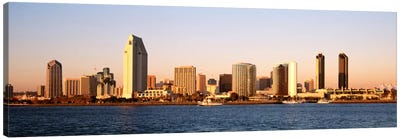 Buildings in a city, San Diego, California, USA Canvas Art Print