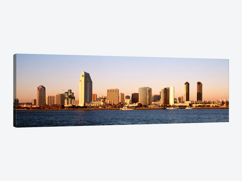 Buildings in a city, San Diego, California, USA by Panoramic Images 1-piece Canvas Print