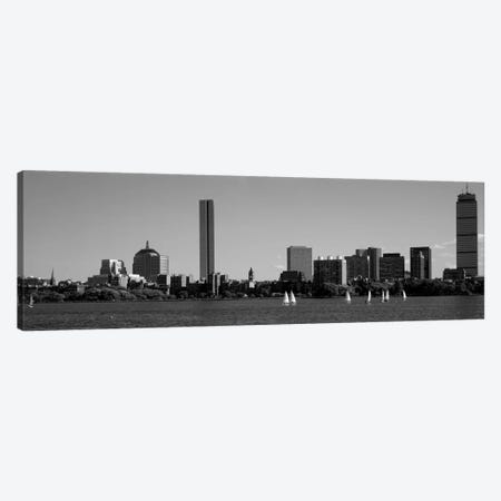 MIT Sailboats, Charles River, Boston, Massachusetts, USA Canvas Print #PIM1948} by Panoramic Images Canvas Wall Art