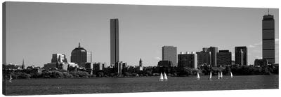 MIT Sailboats, Charles River, Boston, Massachusetts, USA Canvas Art Print