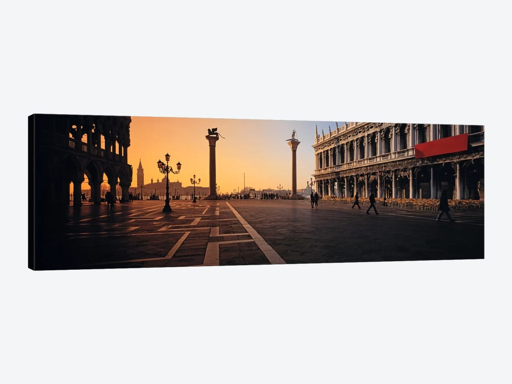 Piazza San Marco (St. Mark's Square) At Twilight, Venice, Italy by Panoramic Images 1-piece Art Print