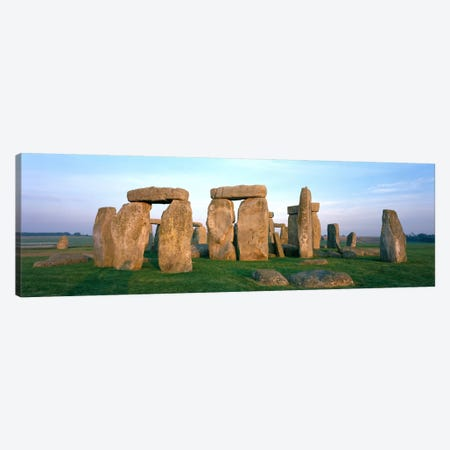 England, Wiltshire, Stonehenge Canvas Print #PIM194} by Panoramic Images Canvas Art Print