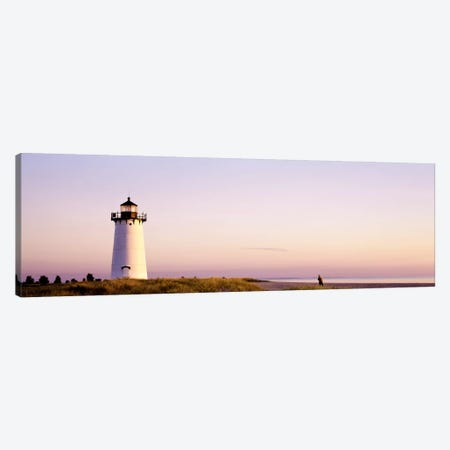 Edgartown Lighthouse, Martha'ss Vineyard, Dukes County, Massachusetts, USA Canvas Print #PIM1950} by Panoramic Images Canvas Art Print