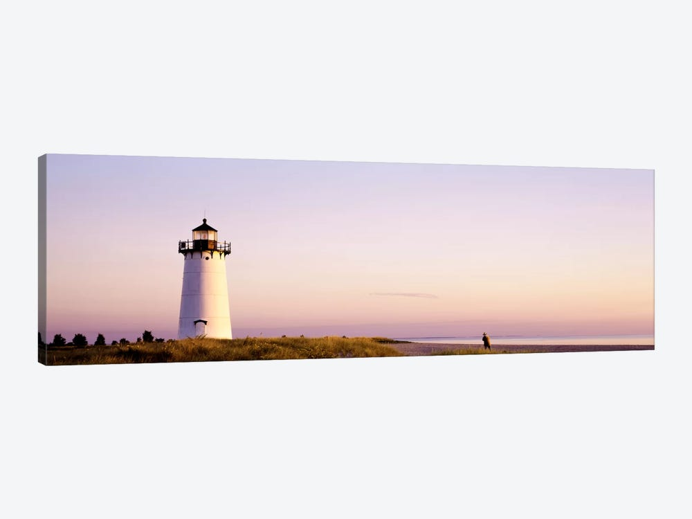 Edgartown Lighthouse, Martha'ss Vineyard, Dukes County, Massachusetts, USA by Panoramic Images 1-piece Canvas Print