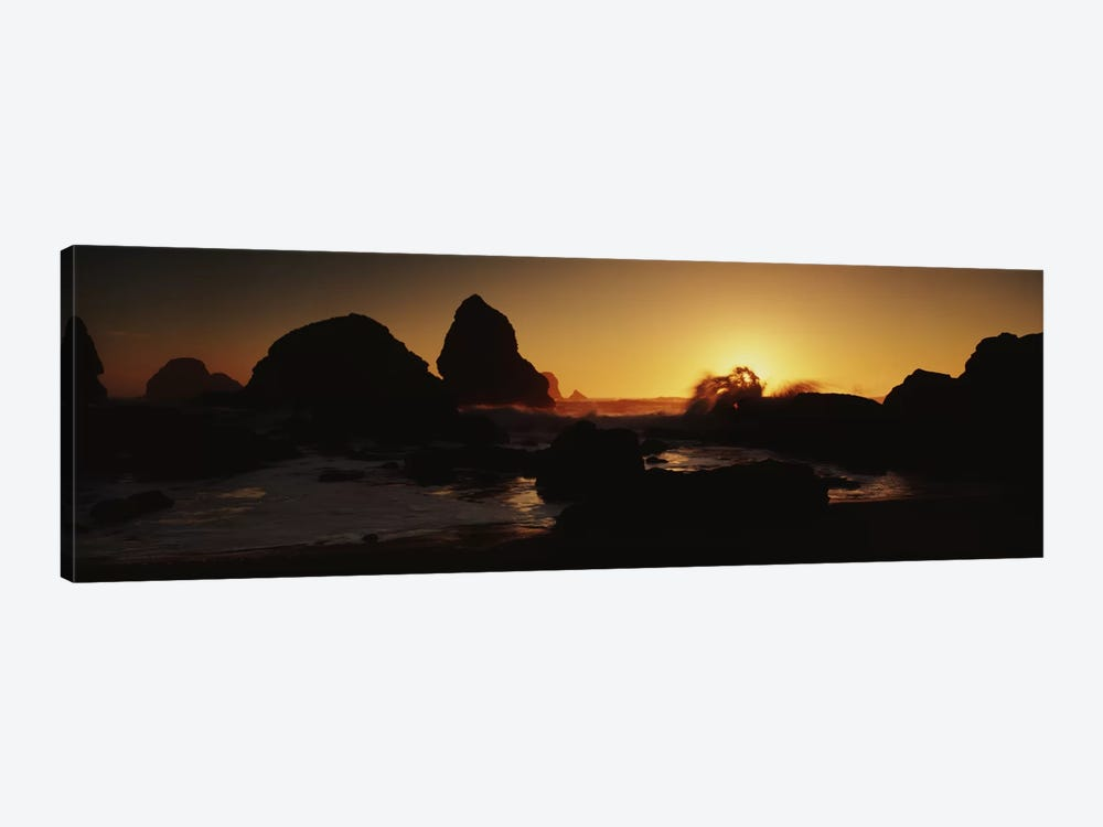Luffenholtz Beach CA USA by Panoramic Images 1-piece Canvas Wall Art