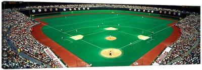 Phillies vs Mets baseball gameVeterans Stadium, Philadelphia, Pennsylvania, USA Canvas Print #PIM1957