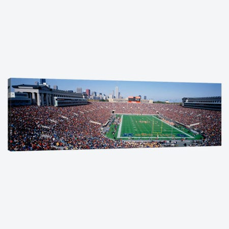 FootballSoldier Field, Chicago, Illinois, USA Canvas Print #PIM1958} by Panoramic Images Canvas Art Print
