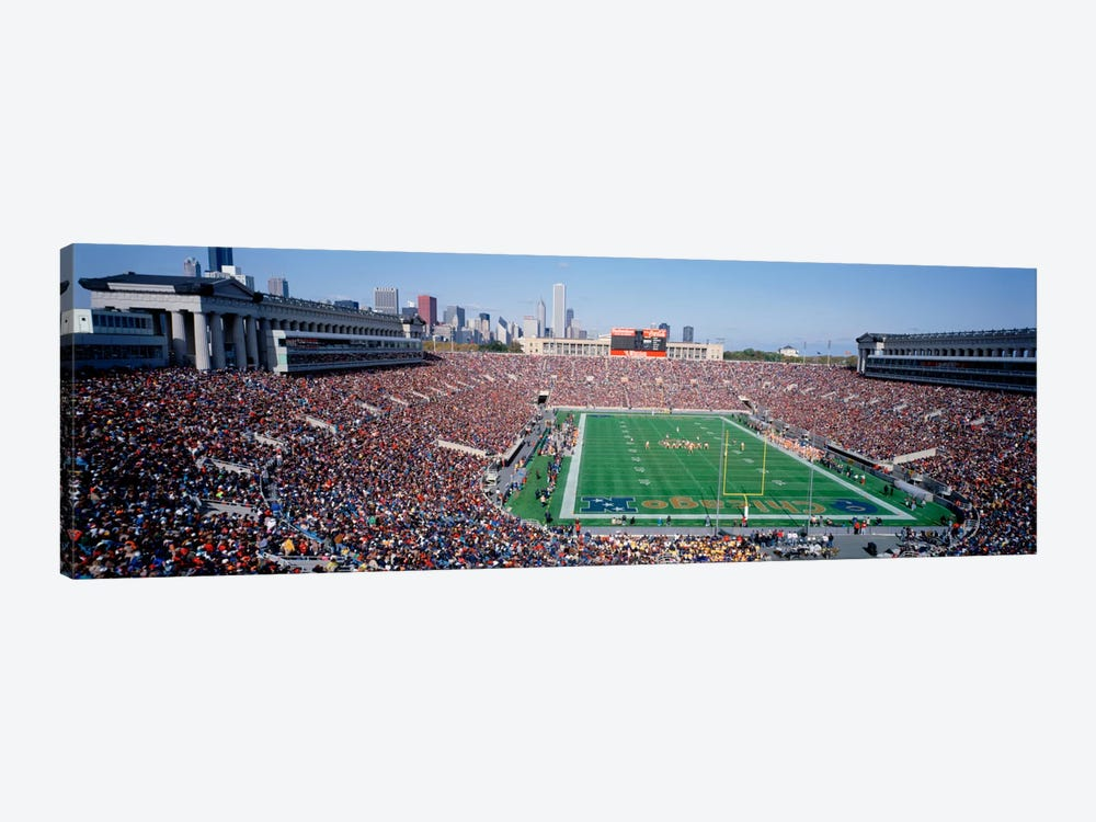 FootballSoldier Field, Chicago, Illinois, USA by Panoramic Images 1-piece Canvas Art Print