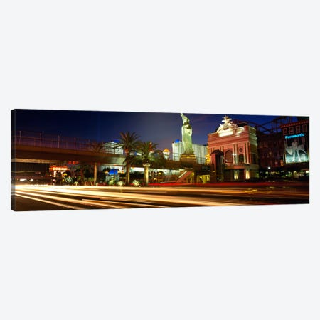 Traffic on a road, Las Vegas, Nevada, USA Canvas Print #PIM1965} by Panoramic Images Art Print