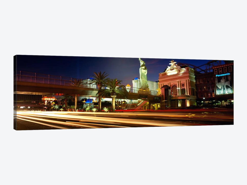 Traffic on a road, Las Vegas, Nevada, USA by Panoramic Images 1-piece Canvas Art Print