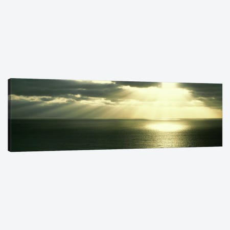 Sunset Pacific Ocean San Diego CA USA Canvas Print #PIM1968} by Panoramic Images Canvas Art