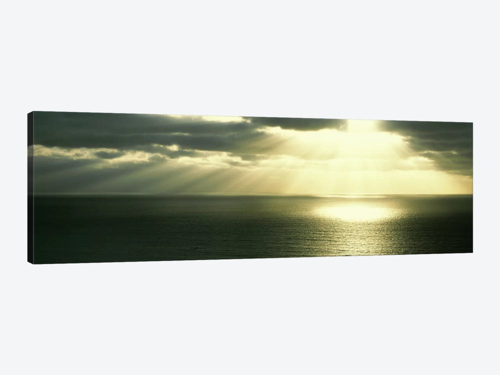 Sunset Pacific Ocean San Diego CA USA by Panoramic Images 1-piece Canvas Wall Art