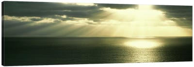 Sunset Pacific Ocean San Diego CA USA Canvas Art Print