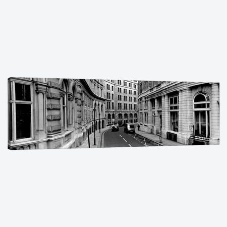 Buildings along a road, London, England Canvas Print #PIM1979} by Panoramic Images Canvas Print